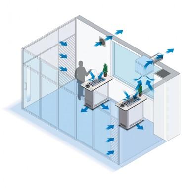 分煙システム[パルクリーン] 喫煙室のご提案